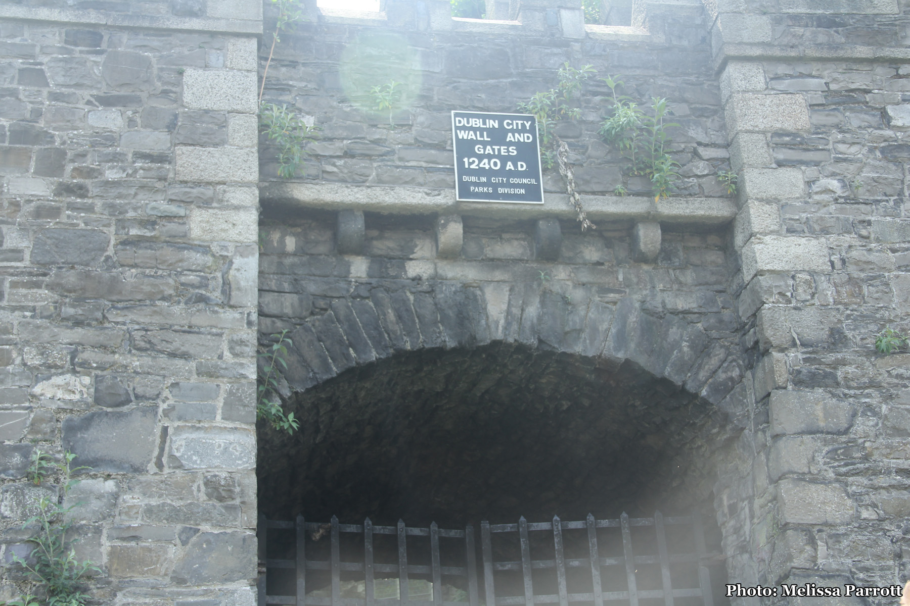 Old City Gate at St Audoen's
